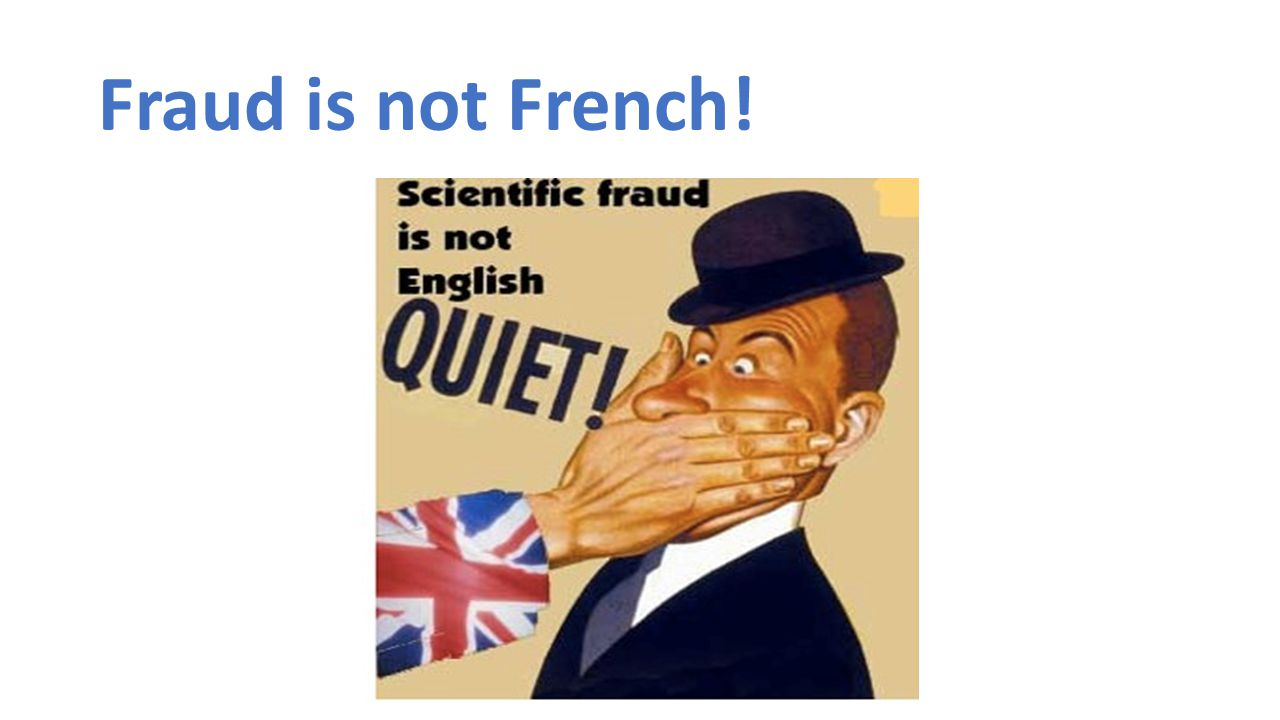 Fraud is not French!