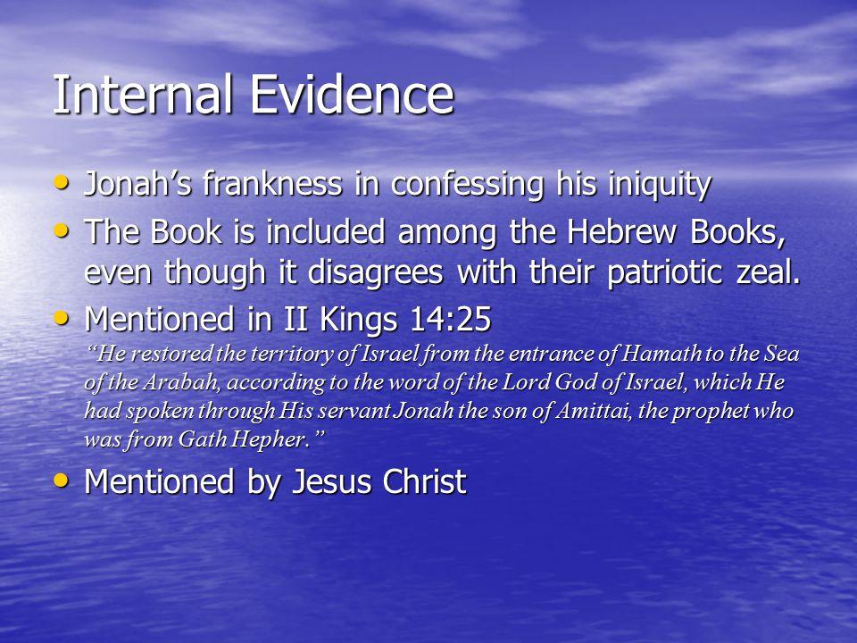 Jonah's 1 st Sin Jonah Disobeyed God Jonah Disobeyed God