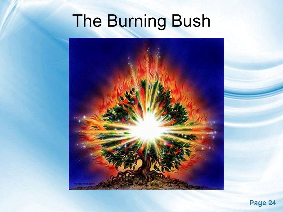 Page 24 The Burning Bush