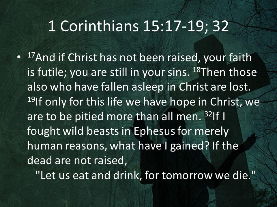 What Must Be Established? Jesus Lived Jesus Died Jesus Lived Again