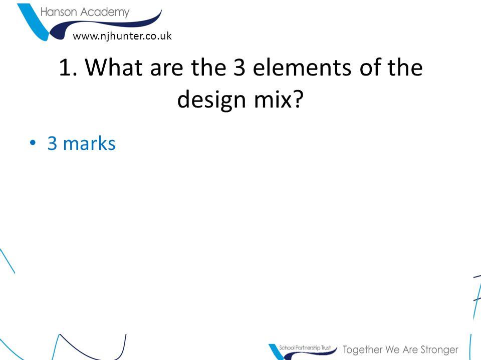 www.njhunter.co.uk 2. What is a prototype? 1 Mark