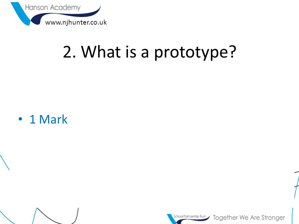 www.njhunter.co.uk 3.How many prototypes do you think James Dyson made before the 'real thing'.