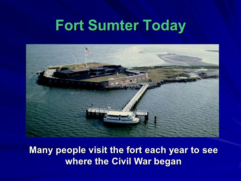 Battle of Fort Sumter April 12, 1861 Southern troops wanted to take over the Union Fort in the Charleston Harbor After several days of fighting, Union