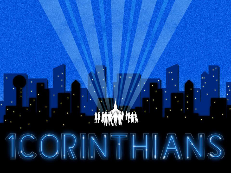 1 Corinthians 7-8 The Principle of Urgency