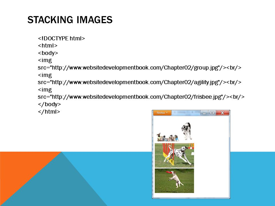STACKING IMAGES