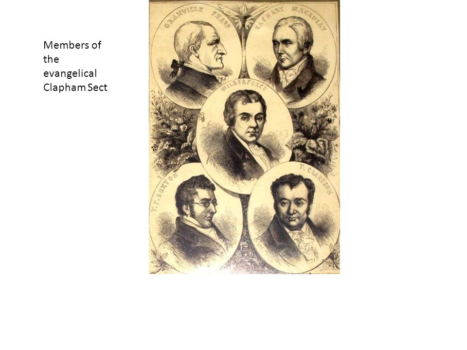 Members of the evangelical Clapham Sect