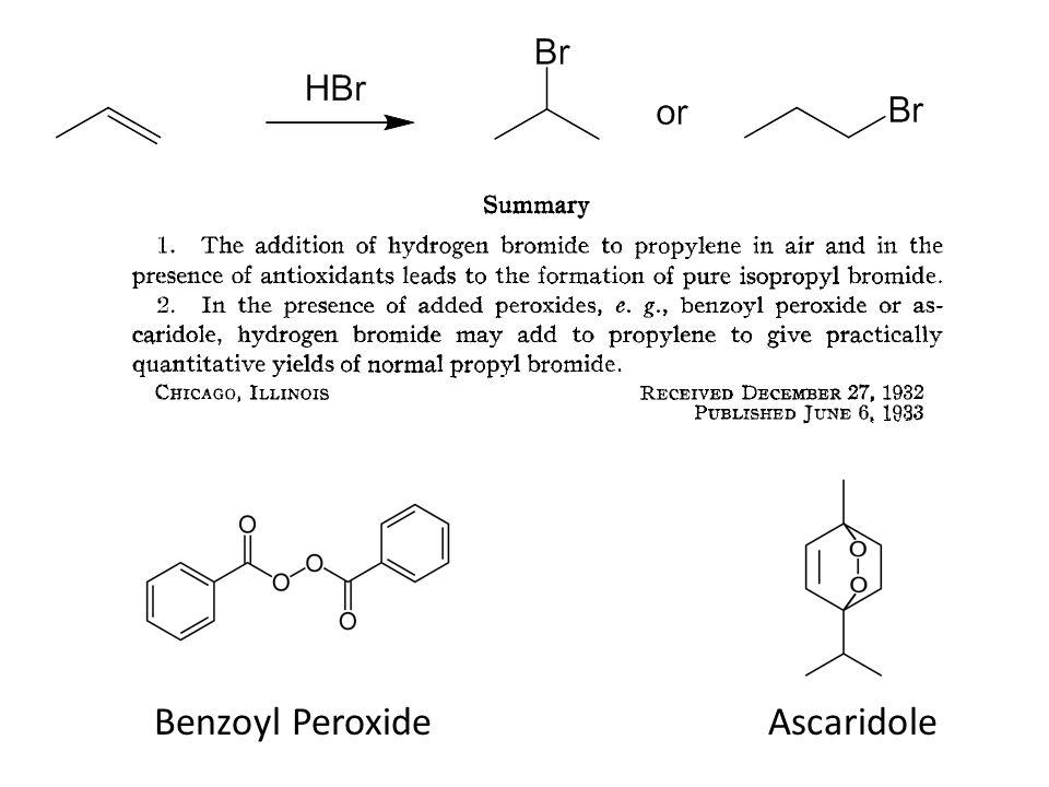 Benzoyl PeroxideAscaridole