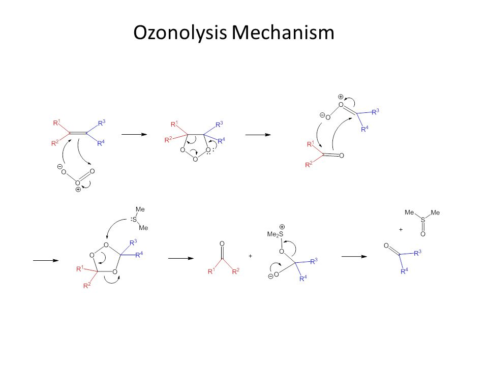 Ozonolysis Mechanism