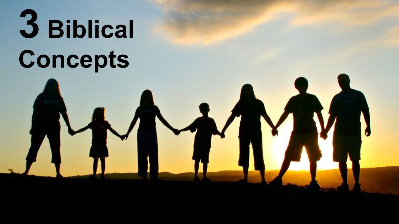 3 Biblical Concepts