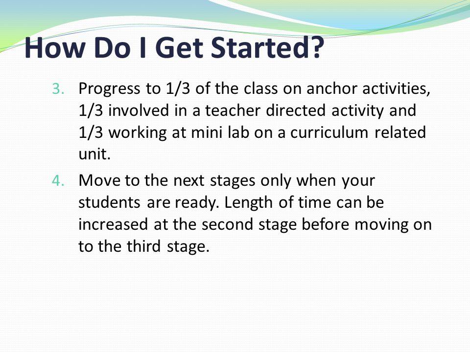 How Do I Get Started. 3.
