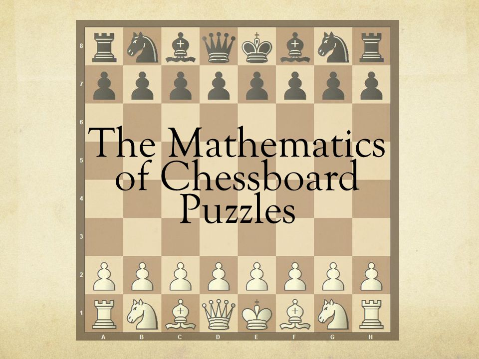 The Mathematics of Chessboard Puzzles