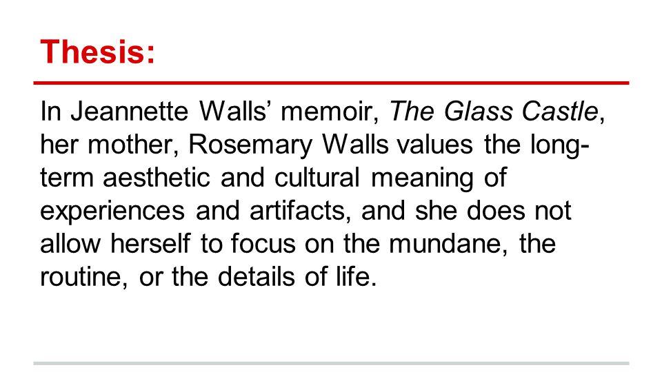 The glass castle essay