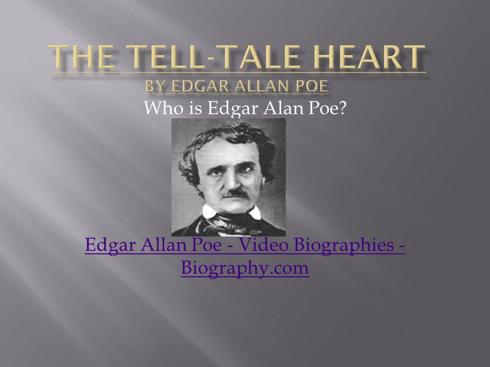 Who is Edgar Alan Poe? Edgar Allan Poe - Video Biographies - Biography.com