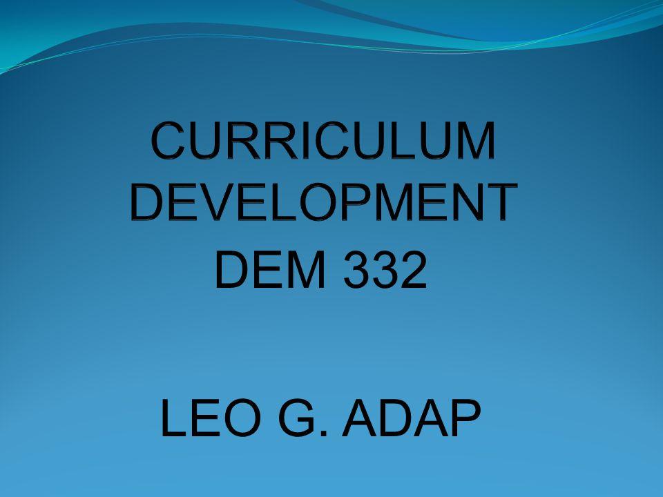 DEM 332 LEO G. ADAP