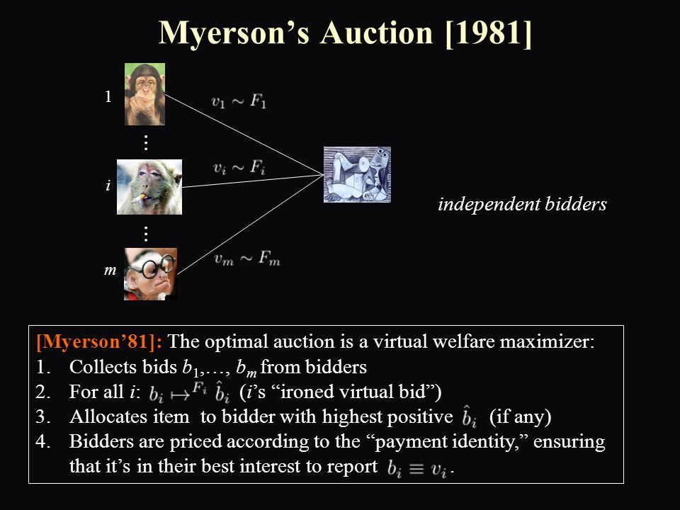 Beyond Single-Item Auctions.► Large body of work in Economics:  e.g.
