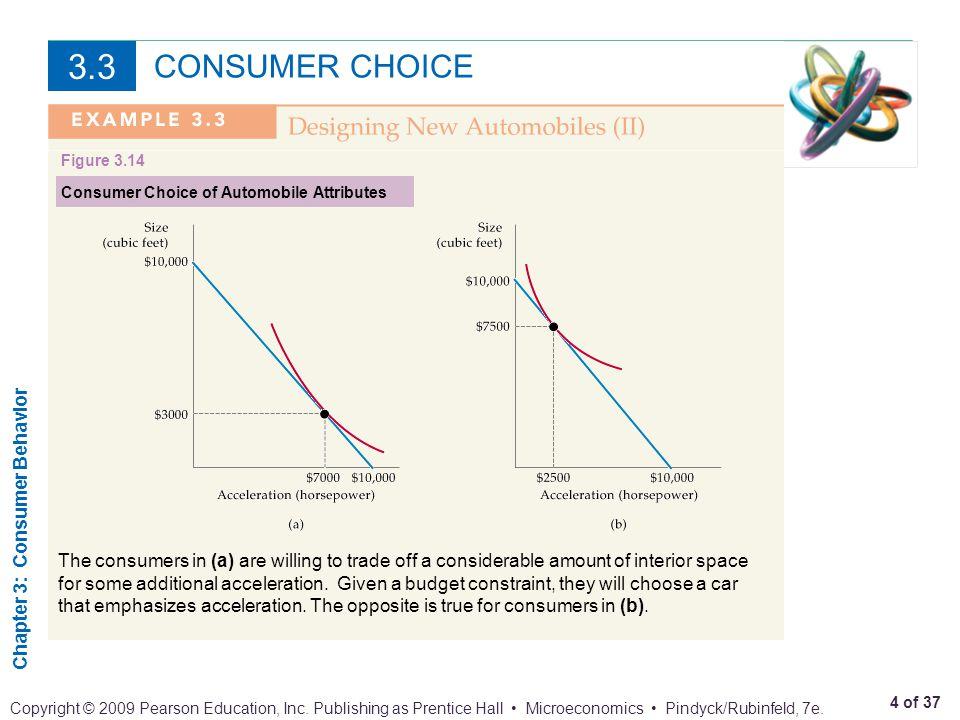 Chapter 3: Consumer Behavior 5 of 37 Copyright © 2009 Pearson Education, Inc.