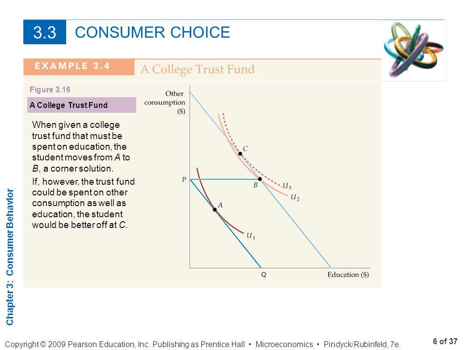 Chapter 3: Consumer Behavior 7 of 37 Copyright © 2009 Pearson Education, Inc.
