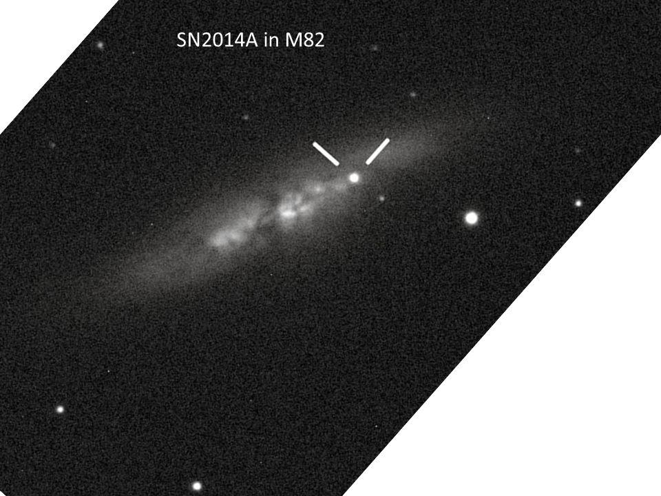 SN2014A in M82