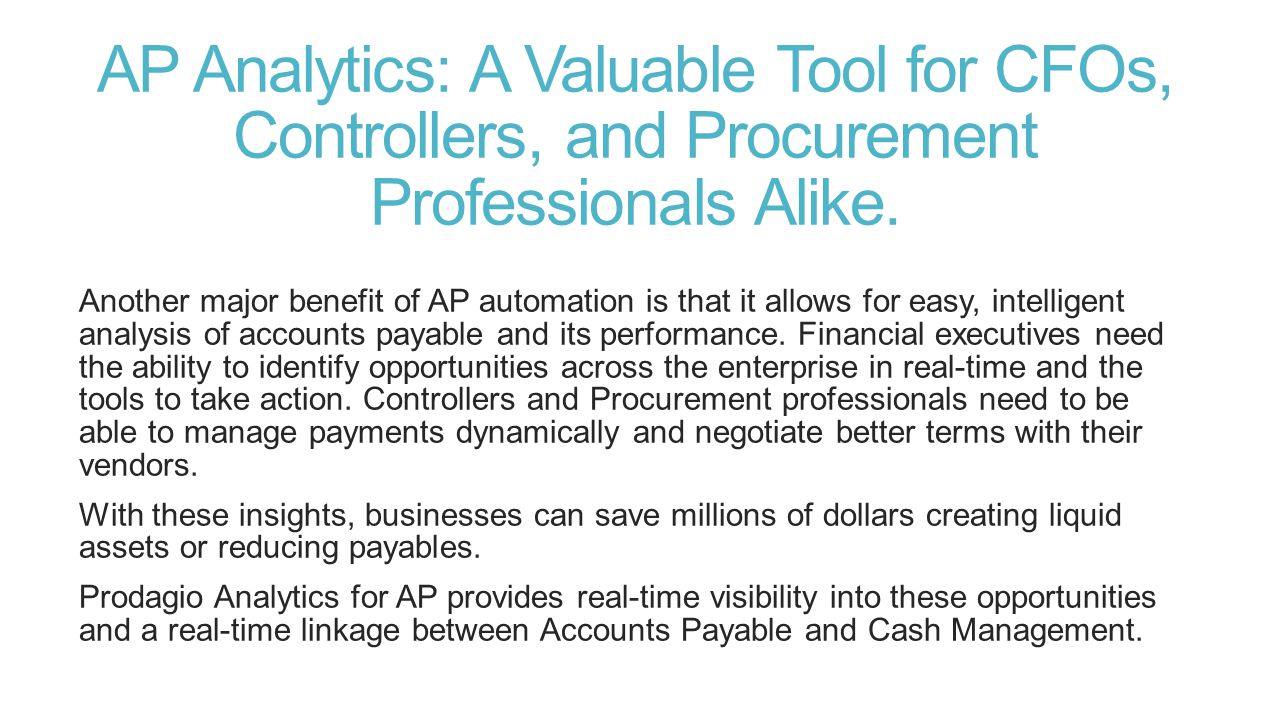 Reduce Invoice Cycle Time Prodagio enables zero-touch processing through a powerful rules engine that eliminates human errors, such as duplicate payments, while increasing the speed and overall efficiency of processing invoices.
