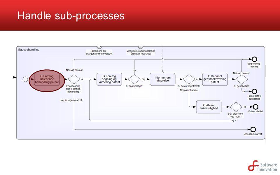 Handle sub-processes