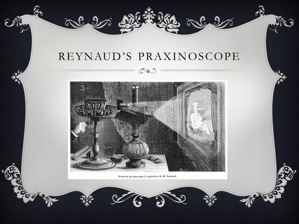 REYNAUD'S PRAXINOSCOPE