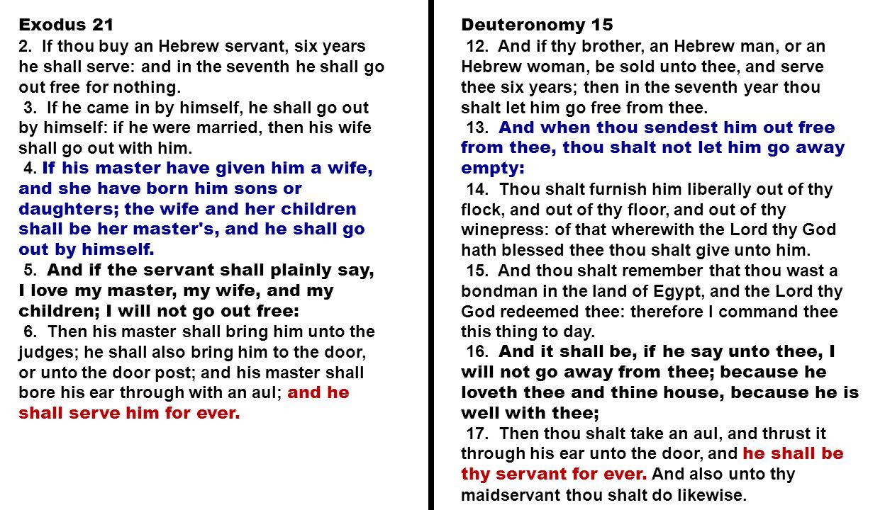 Exodus 21 2.