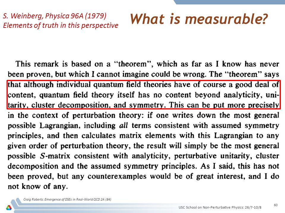 What is measurable.
