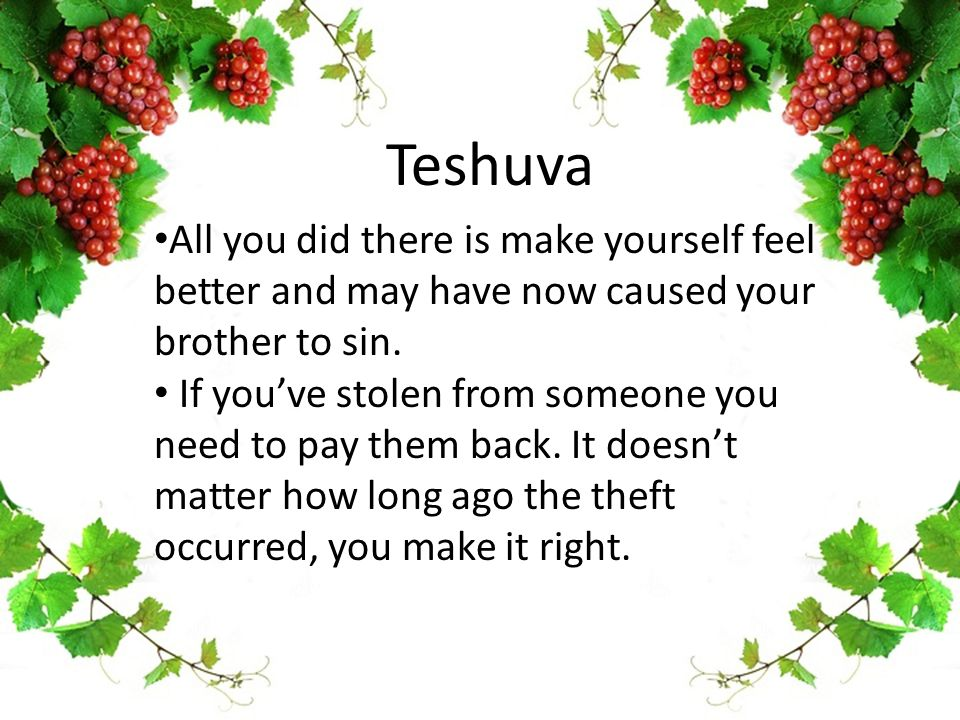 Teshuva All you did there is make yourself feel better and may have now caused your brother to sin.
