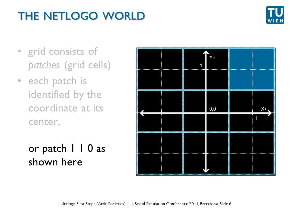 """Wurzer, Lorenz, Popov: """"NetLogo Workshop (Part 1) , in eCAADe 2012 Prague, Slide 6 """"Netlogo First Steps (Artif."""