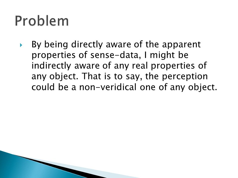  It is obvious that our perceptual judgments have representational content.