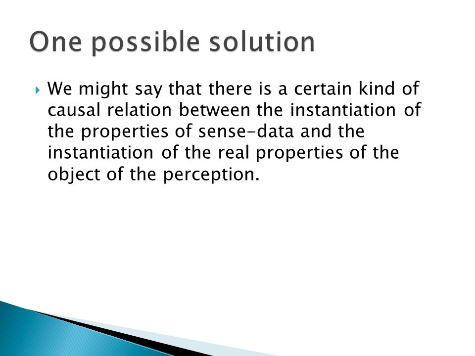  When one introspect, one doesn't represent the perceptual experiences, or their content.