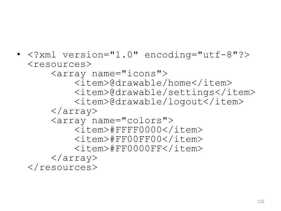@drawable/home @drawable/settings @drawable/logout #FFFF0000 #FF00FF00 #FF0000FF 132