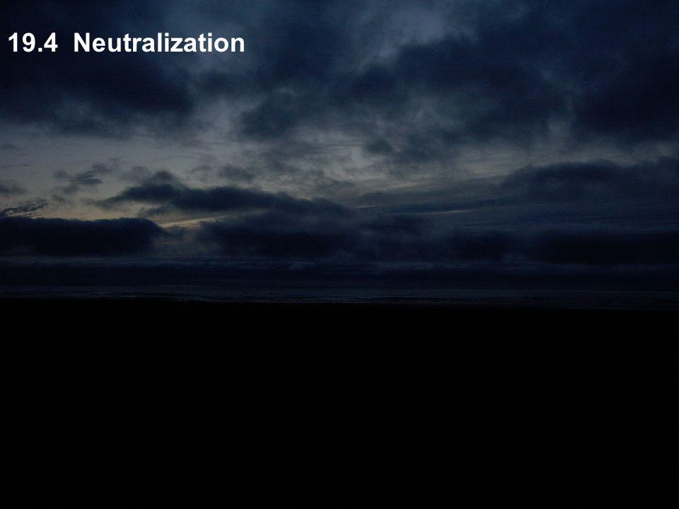 19.4 Neutralization