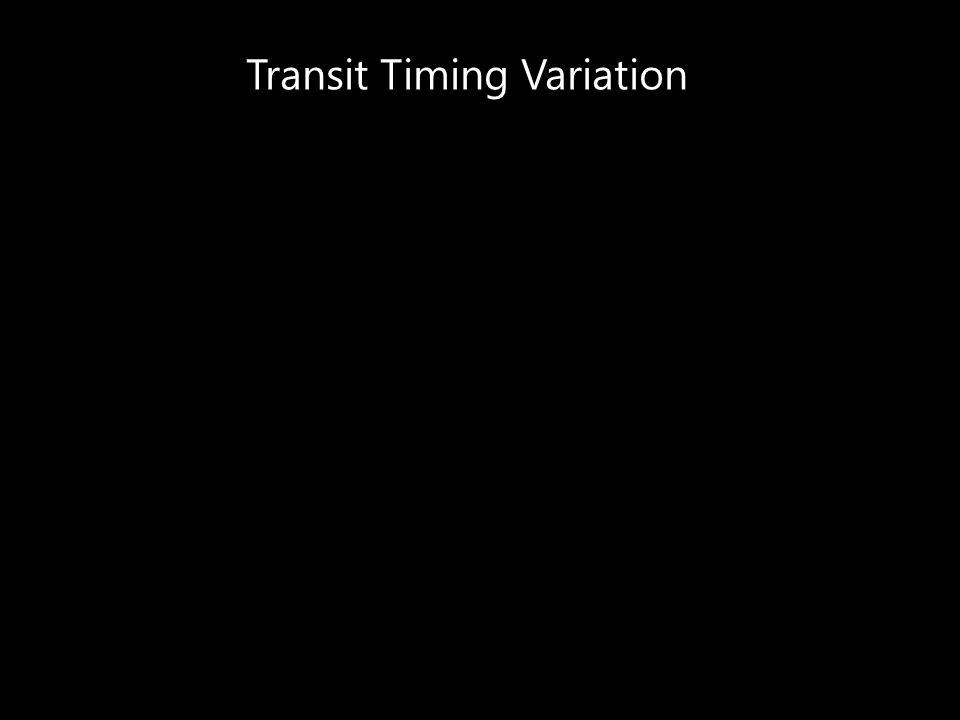 Transit Timing Variation