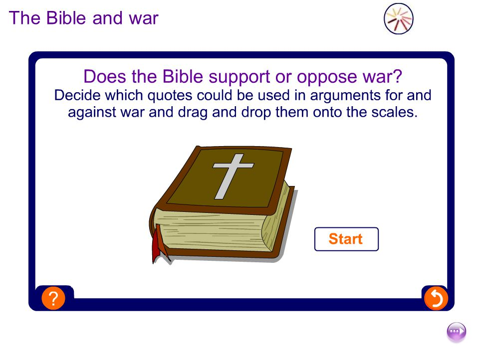 The Bible and war