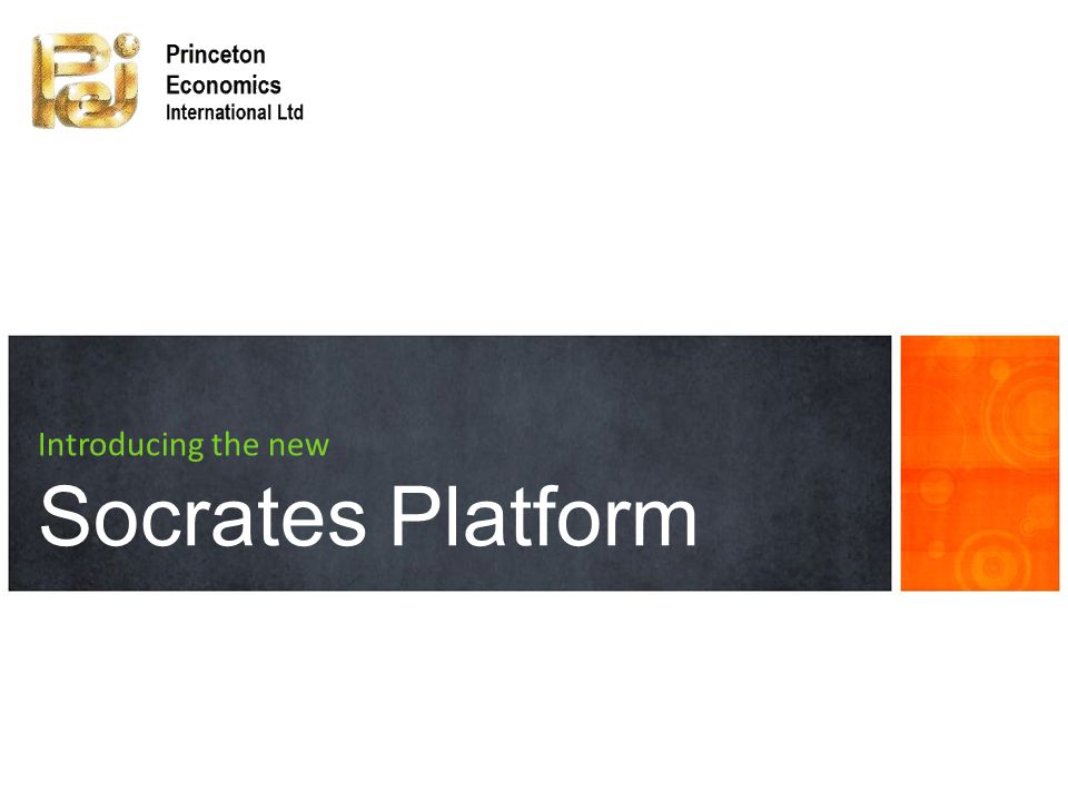 a tour of new features Introducing the new Socrates Platform