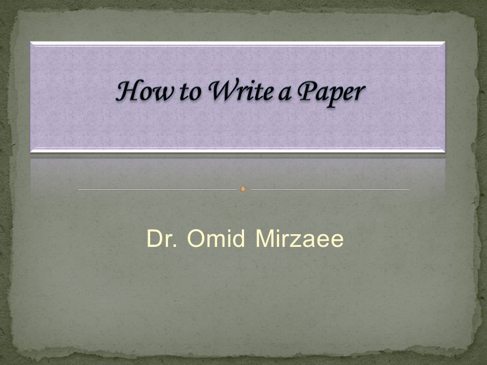 Dr. Omid Mirzaee