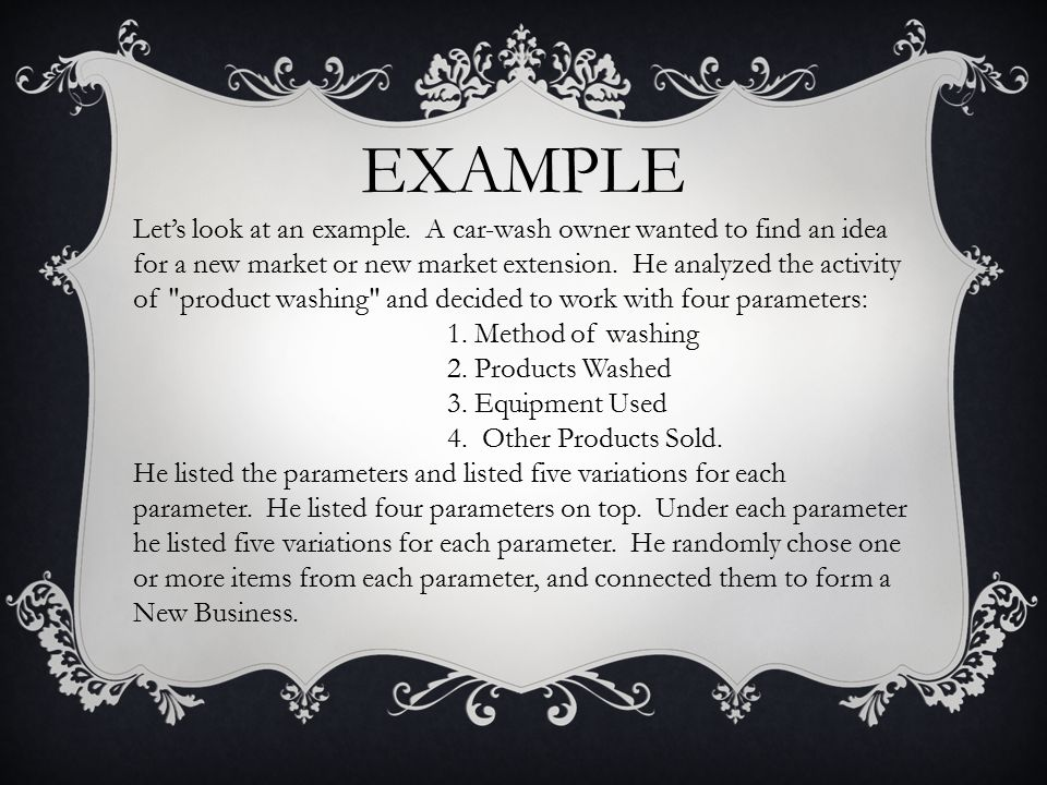 EXAMPLE Let's look at an example.