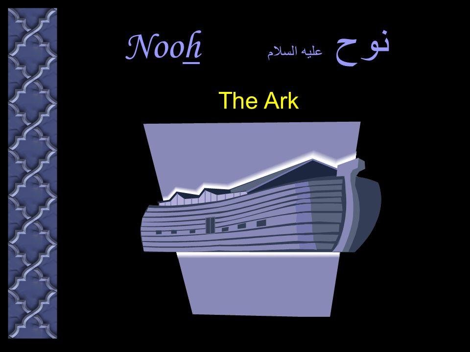 Nooh نوح عليه السلام The Ark هود