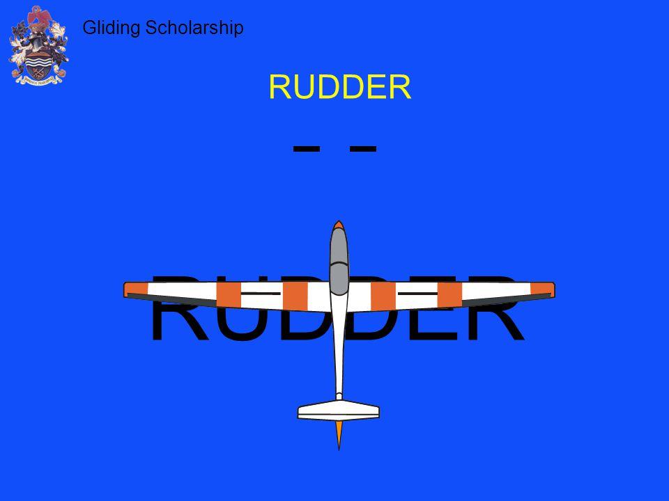 Gliding Scholarship RUDDER