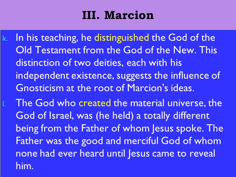 14 III. Marcion k.