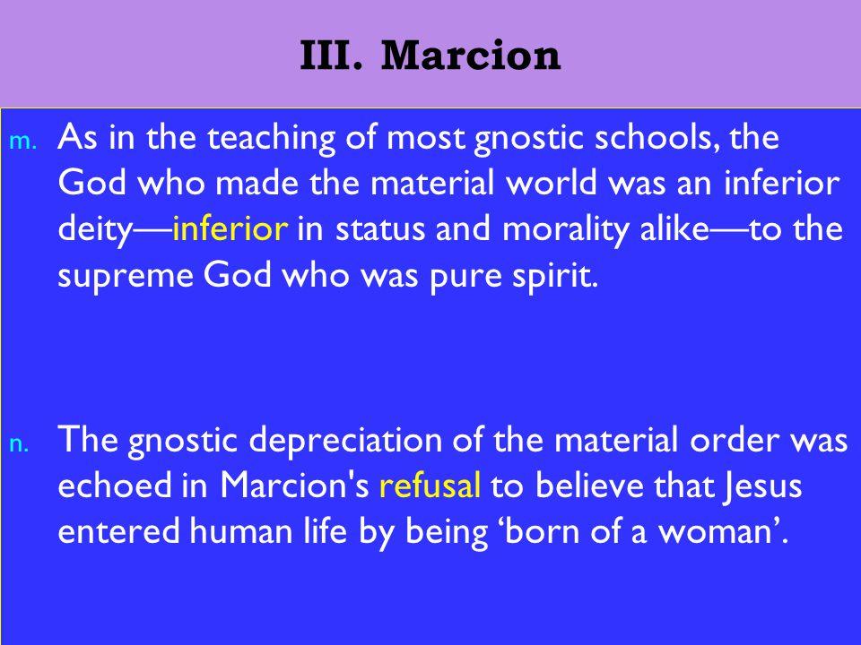 15 III. Marcion m.