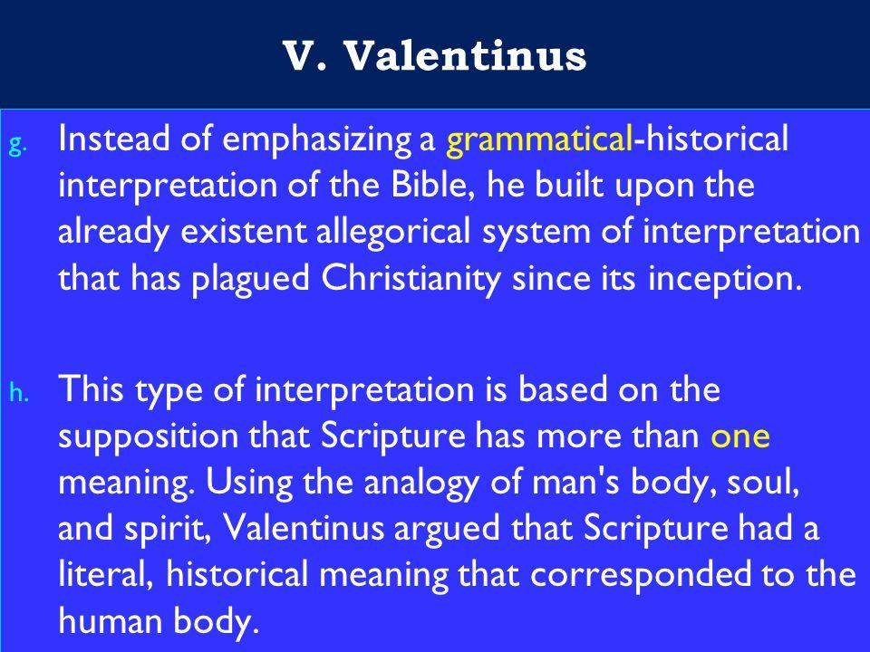 23 V. Valentinus g.