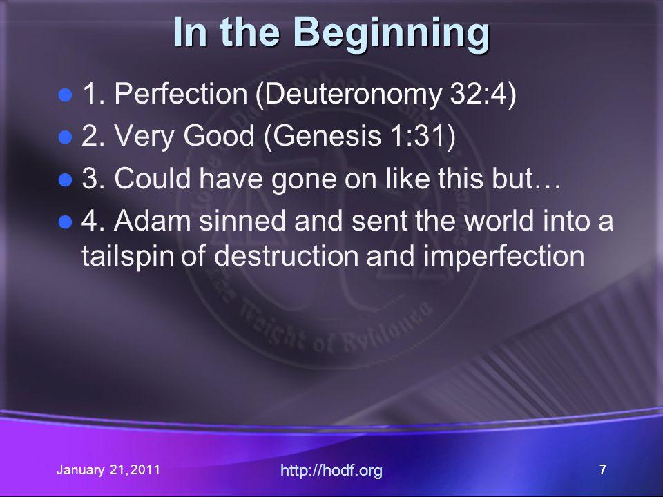 January 21, 2011 http://hodf.org 66