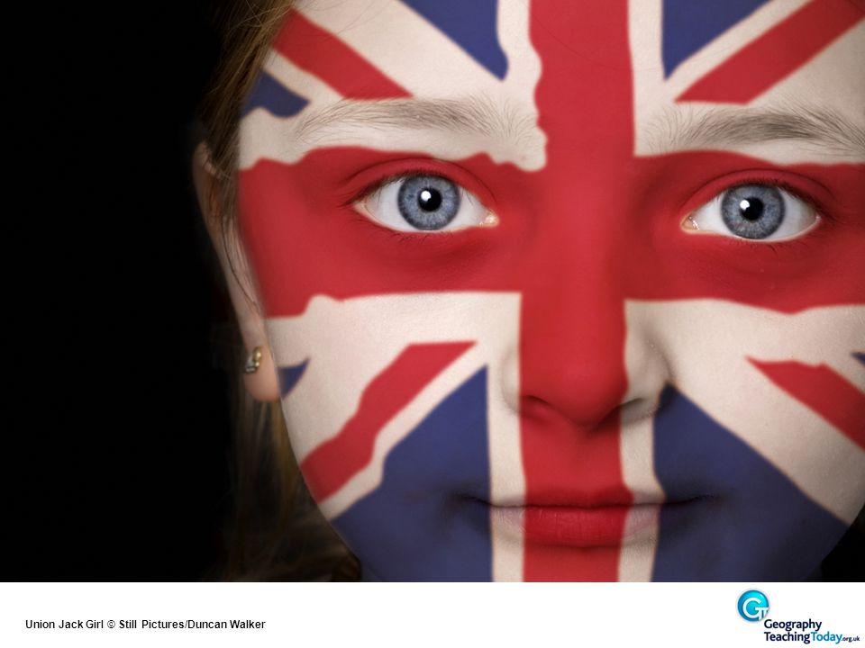 Union Jack Girl © Still Pictures/Duncan Walker
