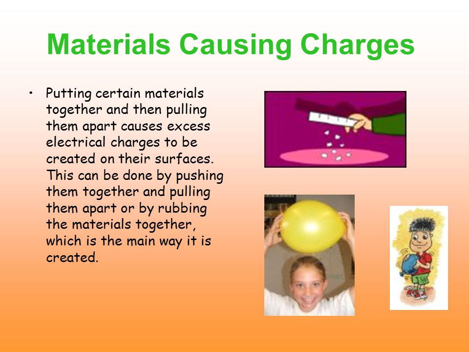 Excess Of Charges Most matter is electrically neutral.