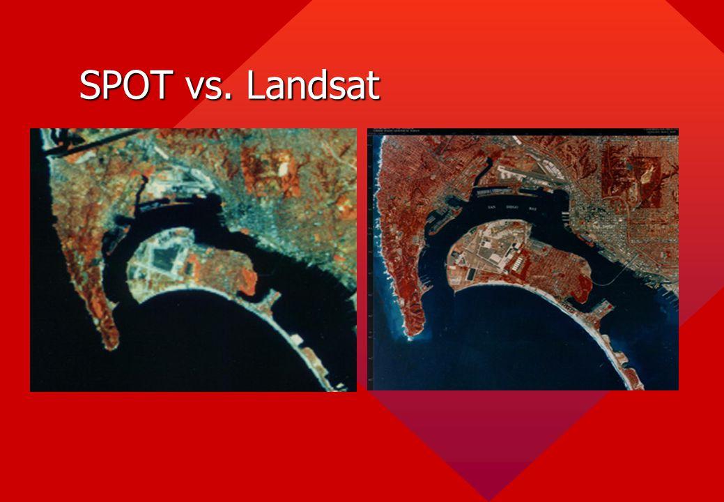 SPOT vs. Landsat