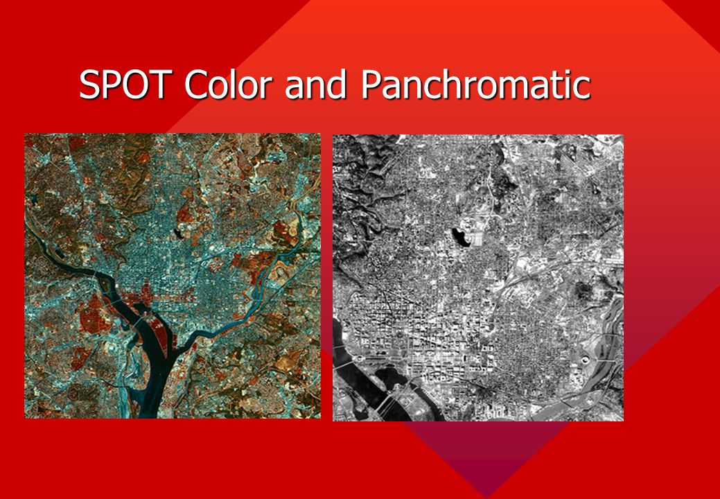 SPOT Color and Panchromatic
