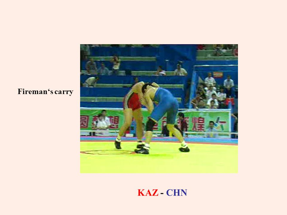 Fireman's carry KAZ - CHN