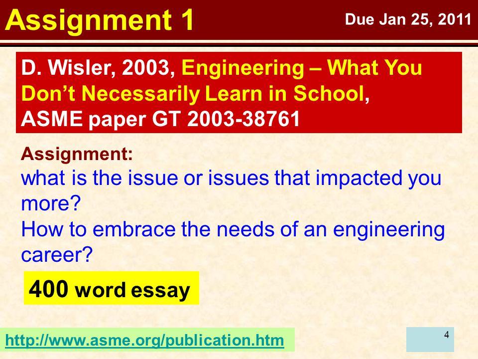 4 Assignment 1 D.